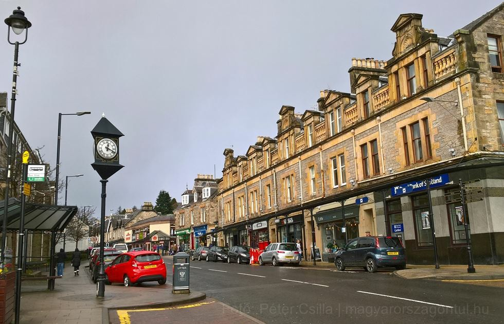 Skócia szívében Pitlochryban
