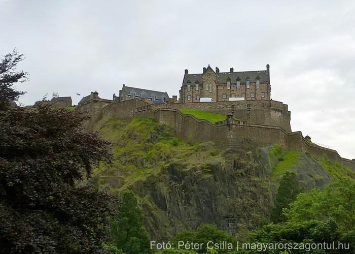 Skócia Edinburgh vár