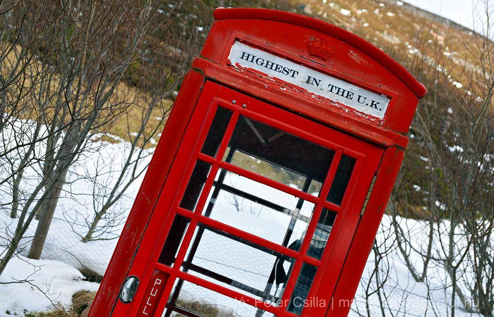 Piros telefonfülke Skócia index