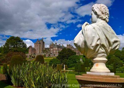 Skócia Drummond kastély