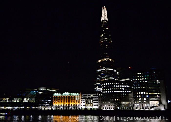 Anglia éjszaka