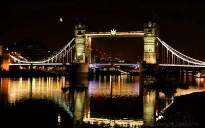 Londont egyszer éjszaka is látni kell!