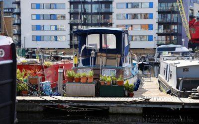 A város, ahol még a kikötő is lakópark