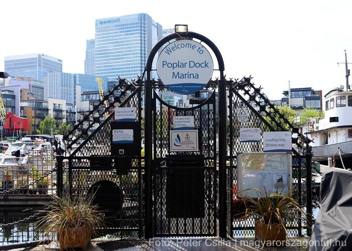 Kikötő lakópark London