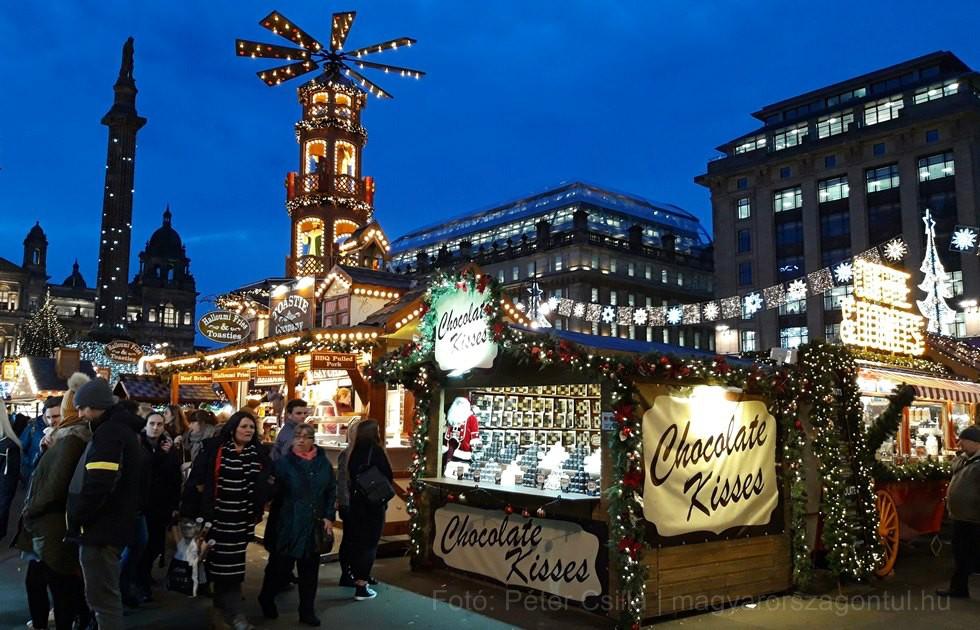 Karácsony Glasgow Skócia index