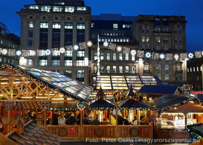 Karácsonyi vásár Glasgow Skócia