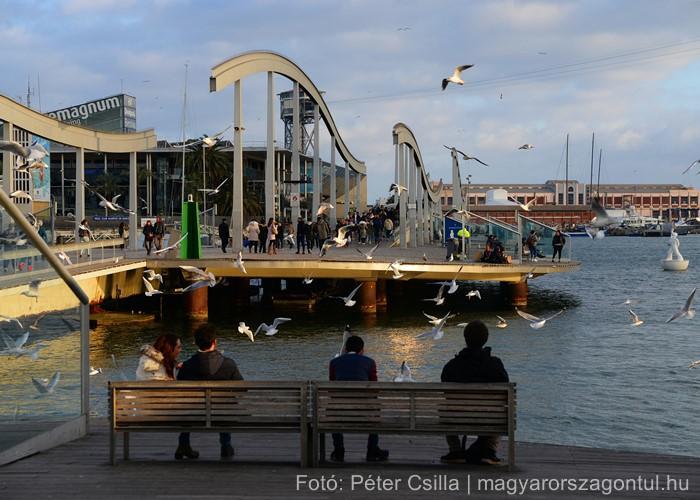 Barcelona kikötő