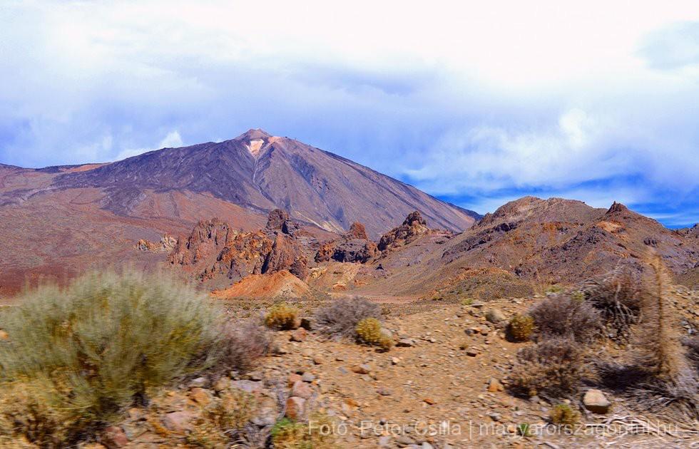 Teide vulkán Tenerife index