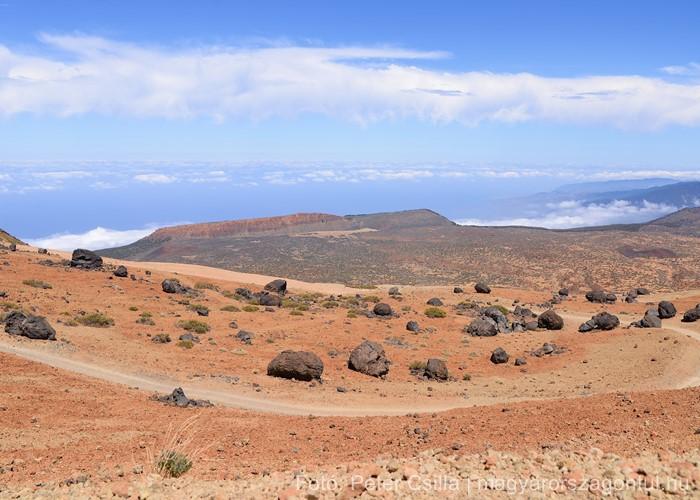 Teide vulkán Tenerife