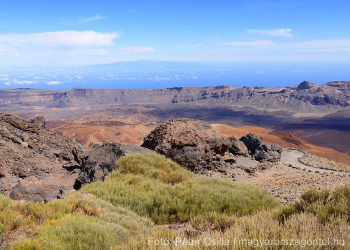 Tenerife túra hegyek