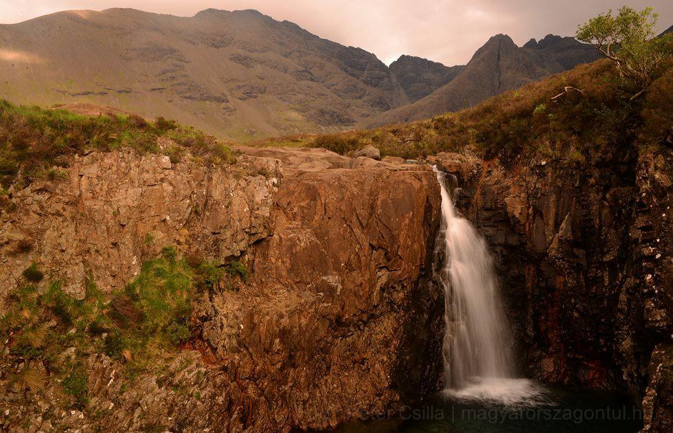 Skócia tündér medencék Skye index