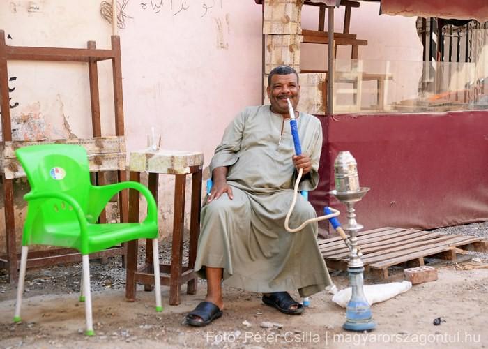 Férfi sisa Egyiptom