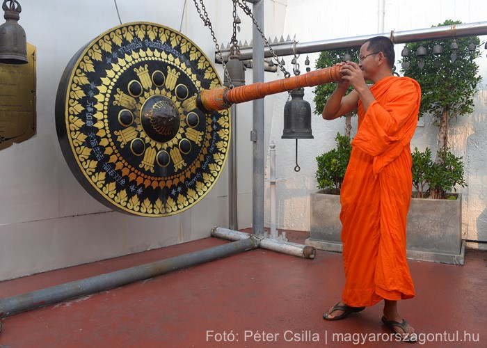 Buddhista szerzetes Thaiföld