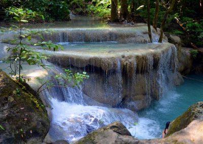 Erawan vízesés Thaiföld Kanchanaburi 5