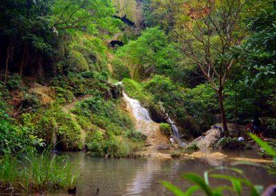 Erawan vízesés Thaiföld Kanchanaburi 7