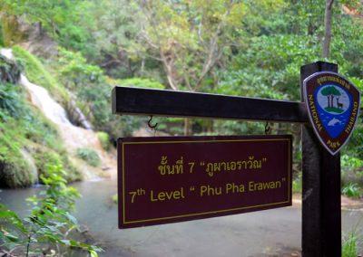 Erawan vízesés Thaiföld Kanchanaburi 9