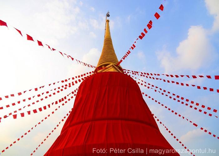 Golden Mount templom Bangkok