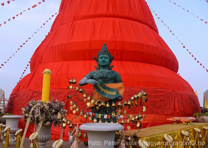 Golden Mount templom Thaiföld