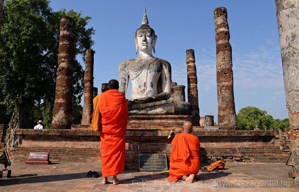Sukhothai templomromok Buddha index