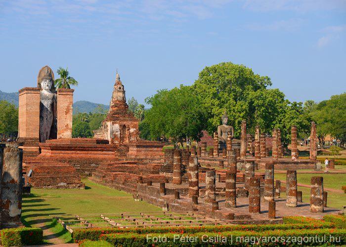 Sukhothai templomromok UNESCO