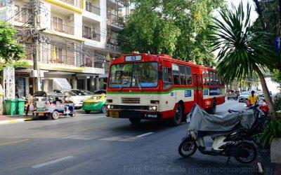 Teszteltem a thai tömegközlekedést