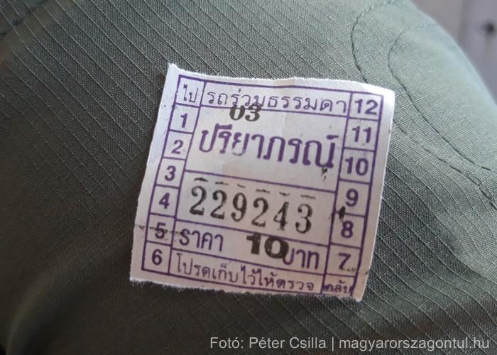 Thaiföld Bangkok buszjegy