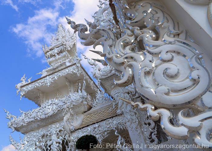 Fehér templom Chiang Rai