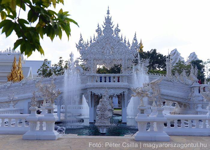 Fehér templom Thaiföld