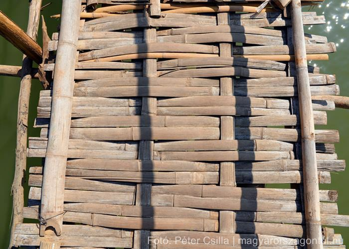 Laosz monszun bambusz