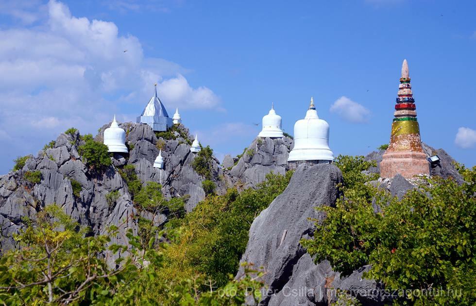 Lebegő pagodák Thaiföld index