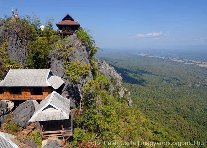 Lebegő pagodák Thaiföld