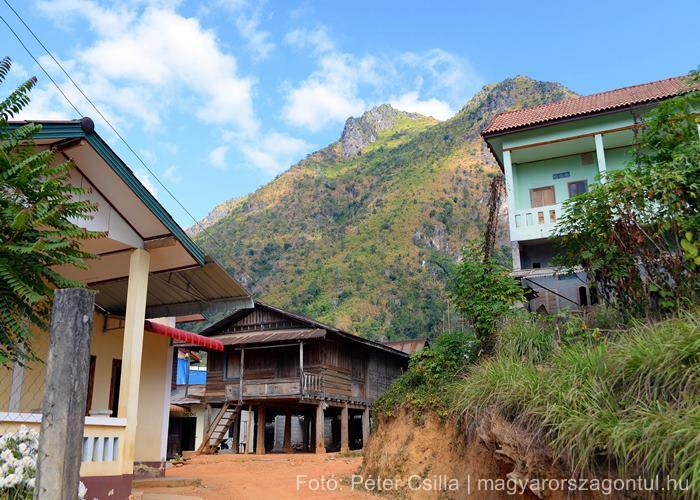 Nong Khiaw házak