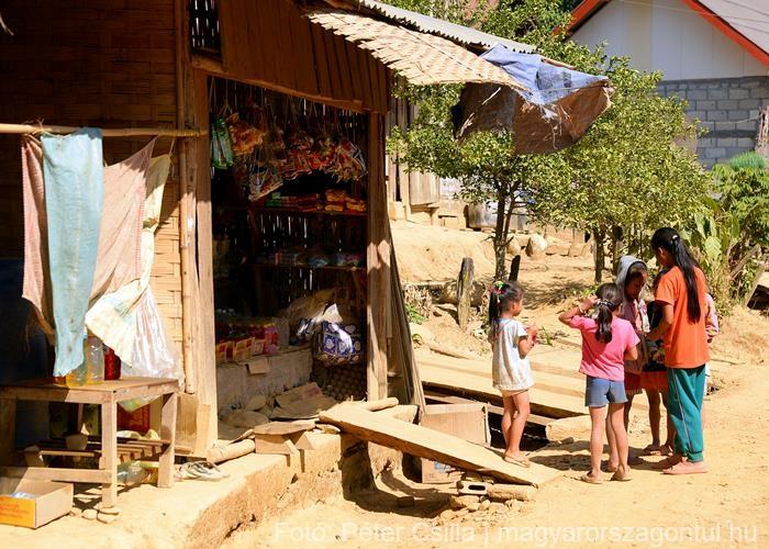 Ban Na falu Laosz 1