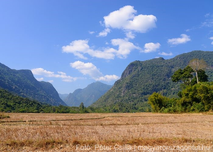Ban Na falu Laosz 3