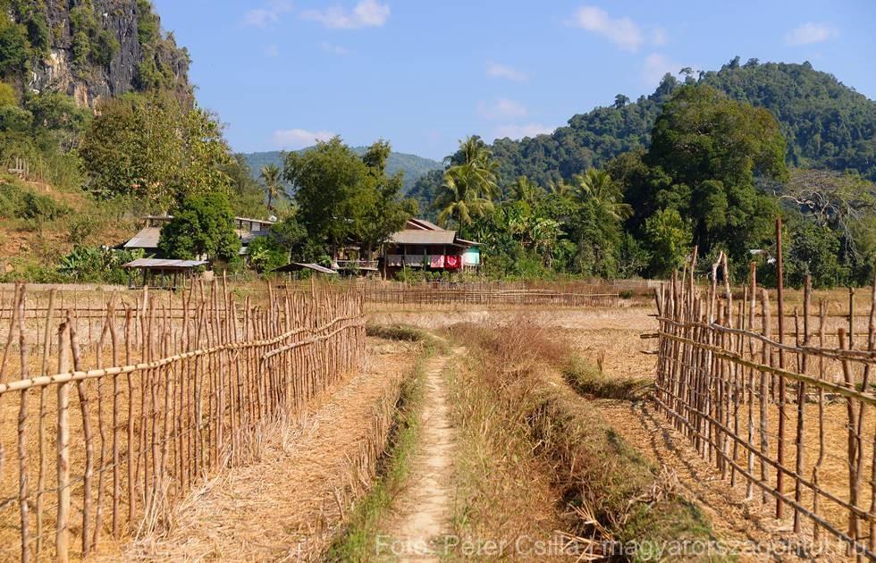 Ban Na falu Laosz index