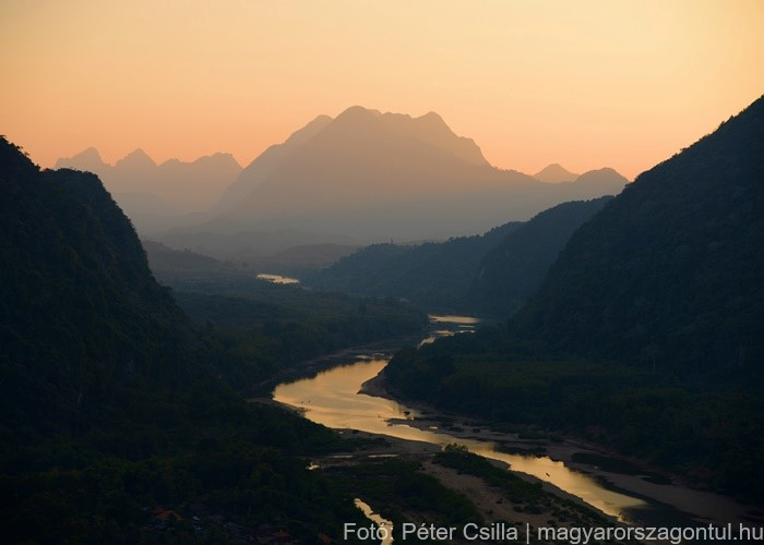 Muang Ngoy Ázsia Laosz