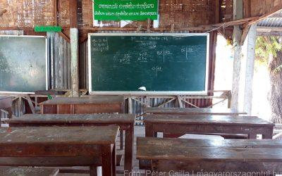 Iskola bambuszból, avagy élet a 4000 sziget vidékén