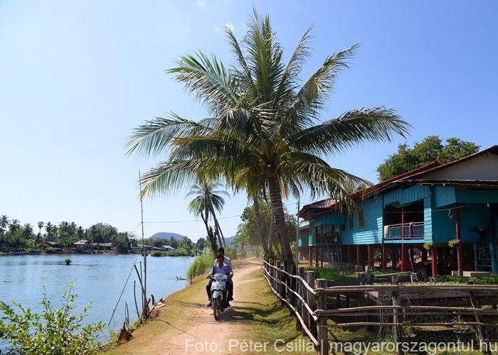4000 sziget Don Det Laosz 1