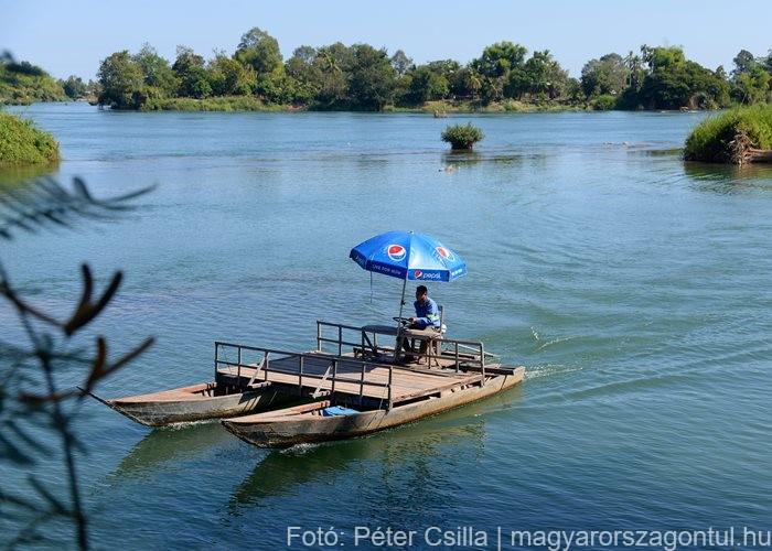 4000 sziget Don Det Laosz 3