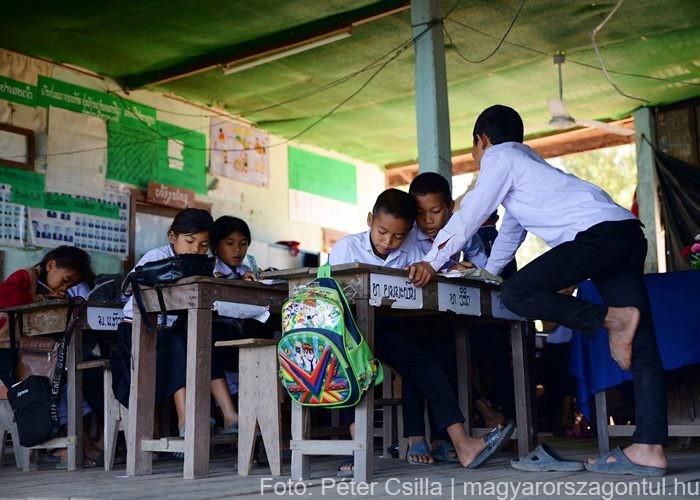 Don Det iskola Laosz 2