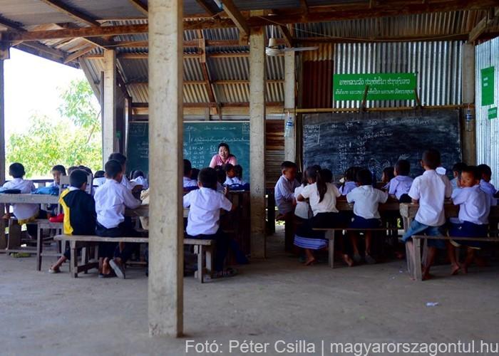 Don Det iskola Laosz 3