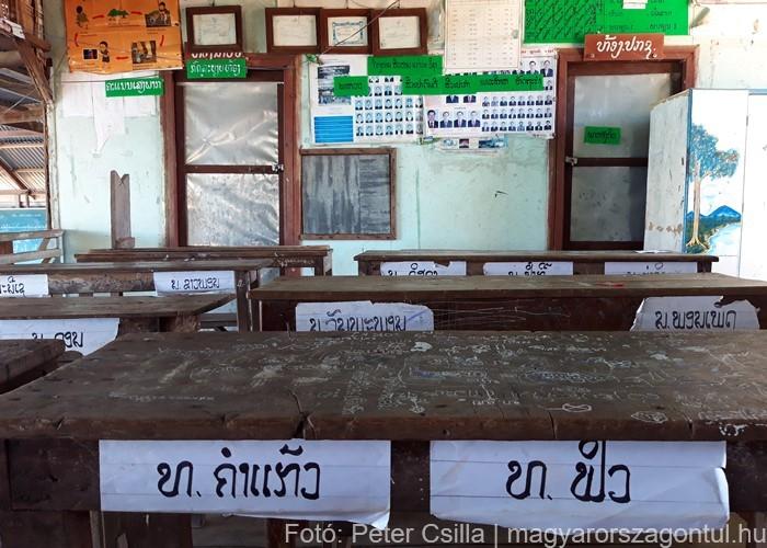 Laosz Don Det iskola