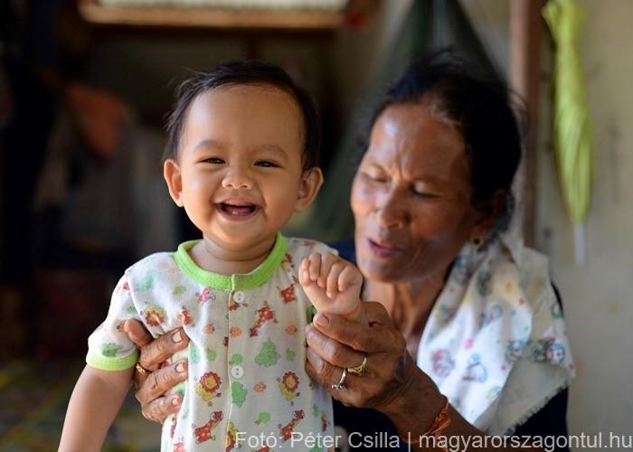 Laosz Don Det sziget