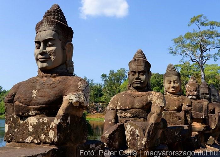 Angkor Kambodzsa romok