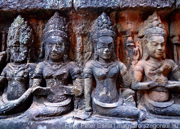Angkor Kambodzsa romok 2