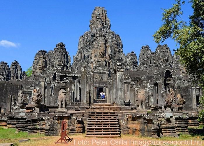 Angkor Kambodzsa romok 4