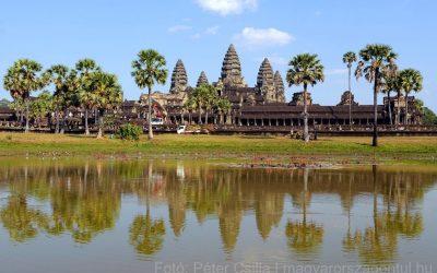 Angkor romjai között barangolva