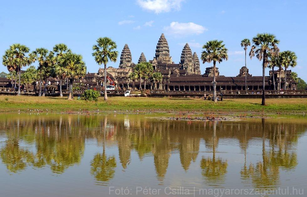 Kambodzsa templom Angkor Wat