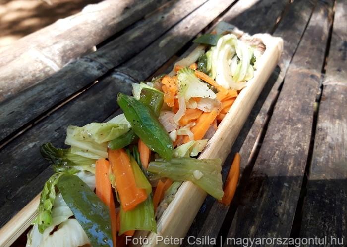 Bambusz étel